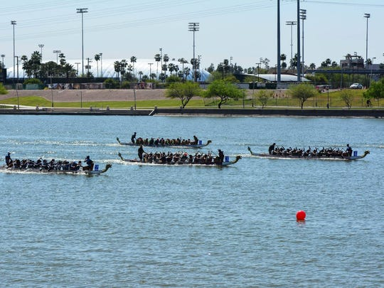 The 15th Annual Dragon Boat Festival takes place Saturday