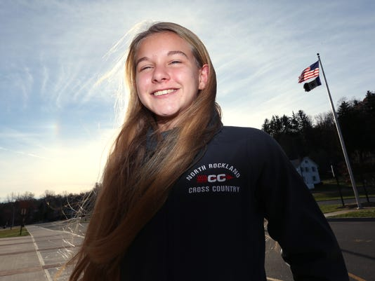 Katelyn Tuohy, Rockland girls cross-country