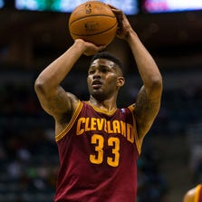 Alonzo Gee playing last season with the Cleveland Cavaliers.