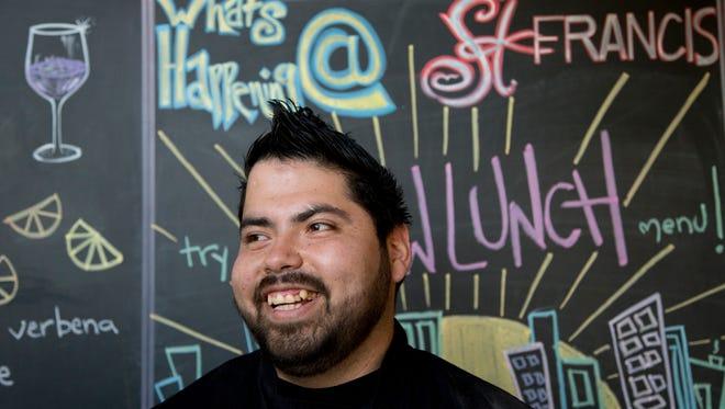 Lorenzo Santillan, was one of the four members of Carl Hayden High School robotics team.