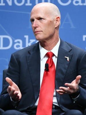 Florida Gov. Rick Scott opposes arrivals of any Syrian refugees until there is a tougher vetting process in place.