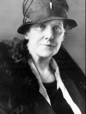 Anna Jarvis, shown in this 1928 file photo, conceived the idea of a special tribute to mothers but it wasn't happy with what it became.