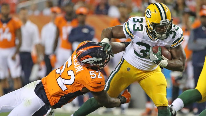 Packers RB Aaron Jones pleads no contest to marijuana-related charge