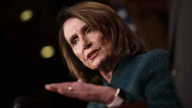 House Minority Leader Nancy Pelosi, D-Calif.