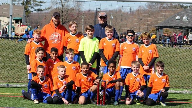 The Millville Maniacs U12 boys' soccer team went 3-0 last weekend.