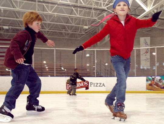 Cool off during the warmer months at the Pettit National Ice Center during public skating times.