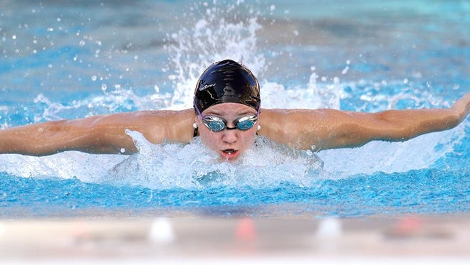 Former Cedarburg High School swimmer Katie Drabot took the bronze medal at the FINA World Championships on Saturday.
