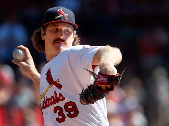 Miles Mikolas pitched 200 innings for the Cardinals last season.