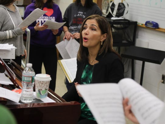 "Argine Safari of Fort Lee, a music teacher at Pascack Valley High School and New Jersey's ""Teacher of the Year"" for 2016, crisscrossed the state this year, talking to aspiring teachers about leadership in the classroom."
