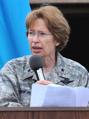 Brig. Gen. Carol Timmons, commander of the Delaware Air National Guard, was recently deployed for six months to serve as director of air mobility forces for U.S. Air Forces Central Command at Al Udeid Air Base, Qatar.
