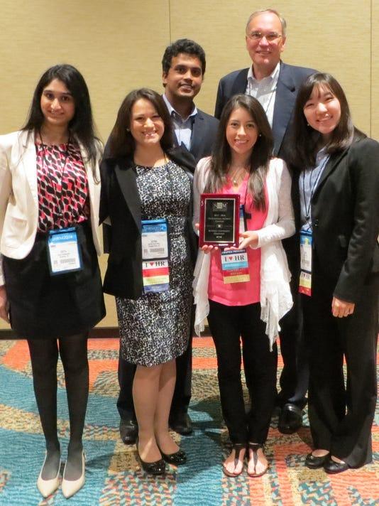 BRI 0829 CN student RU SHRM Outstanding Student Chapter Award 2014.jpg