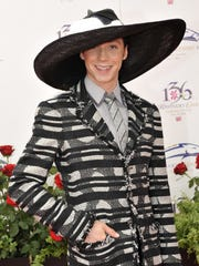 Olympic skater Johnny Weir on the red carpet.  (By