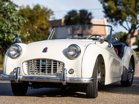 See British cars of all makes and models Sunday at William Harbin Park in Fairfield.