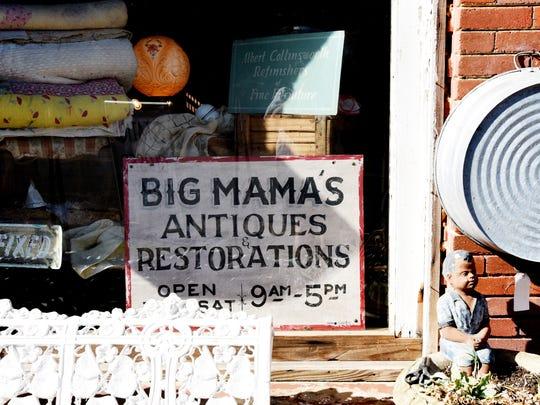 Big Mama's Antiques & Restorations in Hosston, Louisiana.