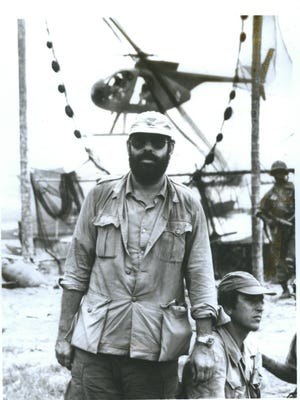 """Francis Ford Coppola during the making of """"Apocalypse Now """"."""