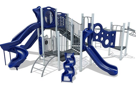 This is the main piece of equipment that organizers of the Centerville playground fundraiser would like to purchase.