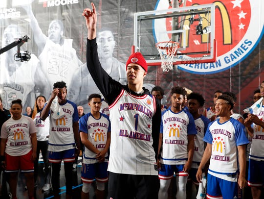 Michael Porter Jr., shown here at the McDonald's All-American