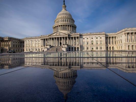 AP APTOPIX CONGRESS RETURNS A USA DC
