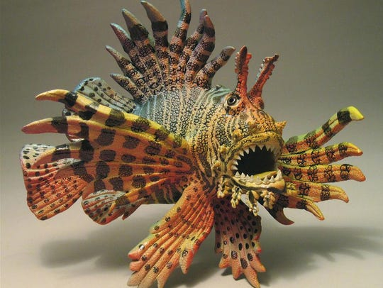 "Alan and Rosemary Bennett's ""Lionfish"""
