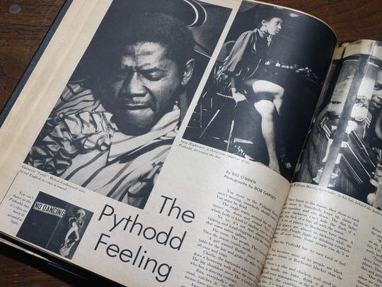 "A spread in the Sept. 6, 1970, Upstate magazine described ""The Pythodd Feeling."""