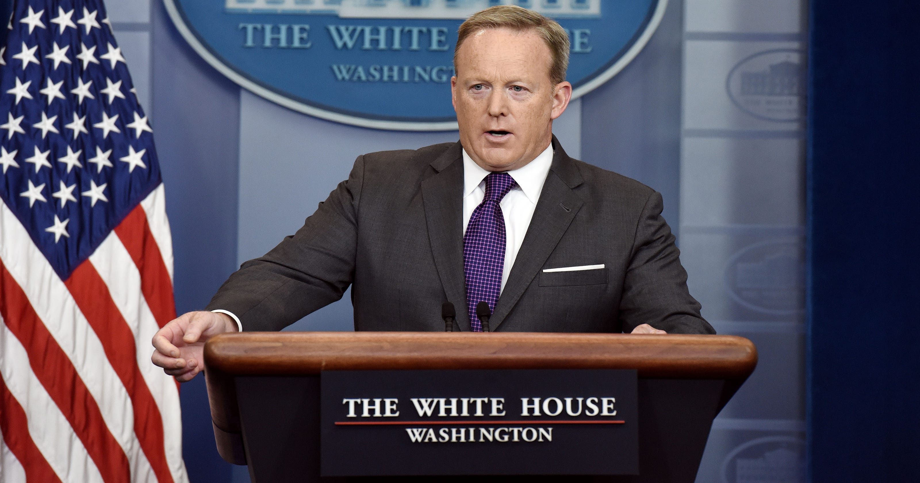 Sean Spicer quits as Donald Trump's White House press secretary