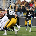 C.J. Beathard and his Hawkeye teammates will take to the Kinnick Stadium turf at 2:30 p.m. Sept. 3 for their season-opener against Miami of Ohio.