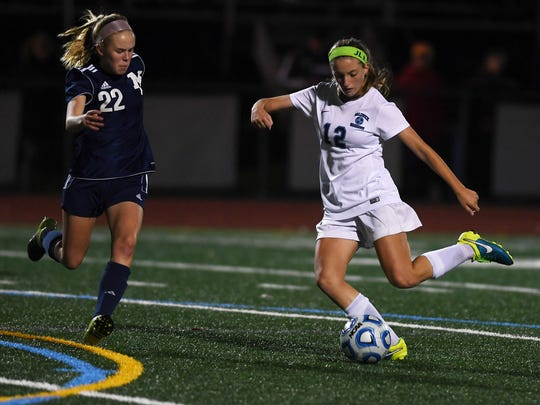 Girls soccer sectional championship: Waldwick vs. Mountain