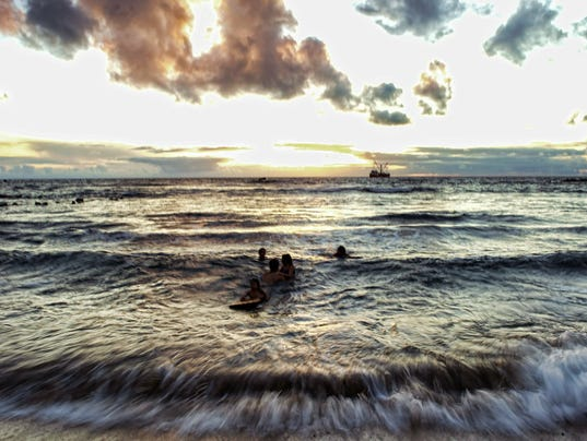 Pacific Ocean warming