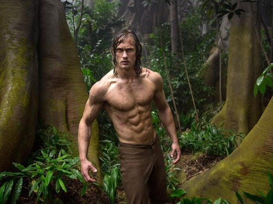 "Alexander Skarsgard stars in ""The Legend of Tarzan."""