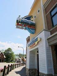 The LandShark Bar & Grill, part of the Margaritaville
