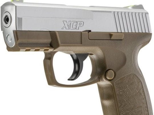 A stock photo of the air pistol the National Park Service says Jonathan Bolger was holding when he was shot by a park ranger on Aug. 20.