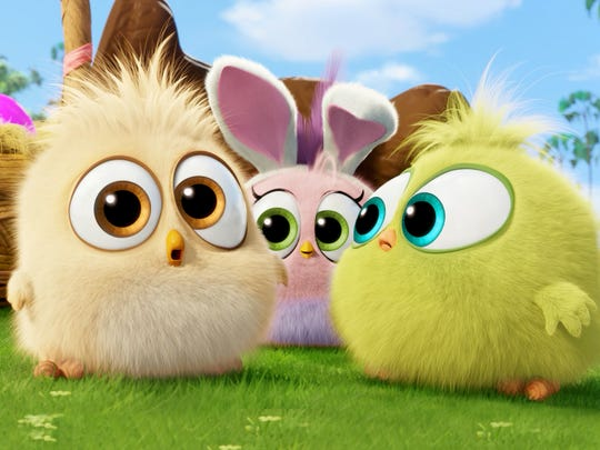 """Hatchlings from """"The Angry Birds Movie"""" are having"""
