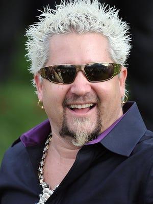 Celebrity chef Guy Fieri.