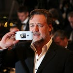 Russell Crowe attends 'The Nice Guys' photocall during the 69th annual Cannes Film Festival.