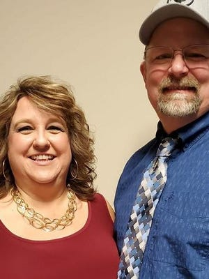 Pictured are Teresa and Shawn Lane.