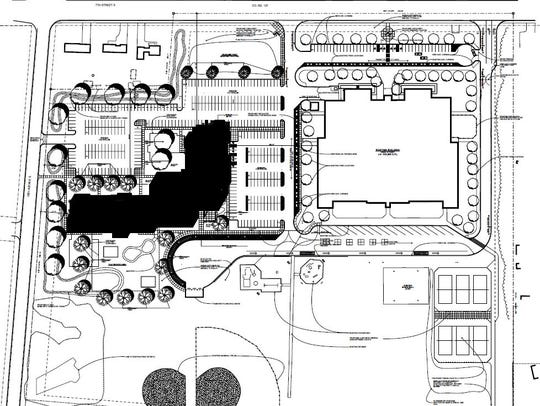 A drawing of St. Cloud school district's new early