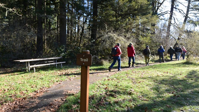 The Oregon Parks and Recreation department is offering free parking at 26 state parks Nov. 24 as part of its Green Friday campaign to urge people to hit the trails instead of the sales.