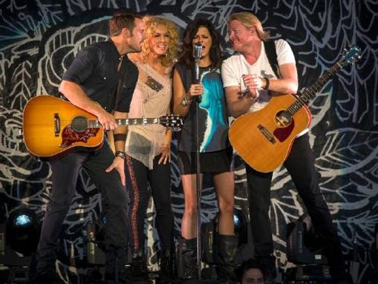 Little Big Town performs at Bon Secours Wellness Arena