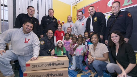 Wilmington Fire Department's Coats For Kids  effort resulted in new coats for 100 children last year.