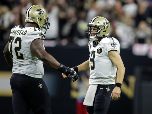 NFL: Washington Redskins at New Orleans Saints
