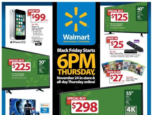 Walmart Thanksgiving Ad 2017 >> Walmart Releases 2016 Thanksgiving Black Friday Ad Circular