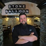 Stone Balloon executive chef Robbie Jester, will appear Sunday night for his redemption round on the Food Network TV show, Guy's Grocery Games.