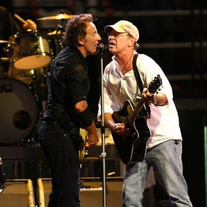 Bruce Springsteen, Robbin Thompson and Steven Van Zandt.