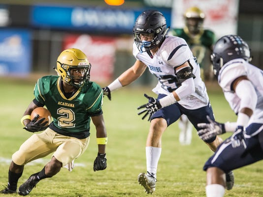 Barbe vs Acadiana                      September 29, 2017