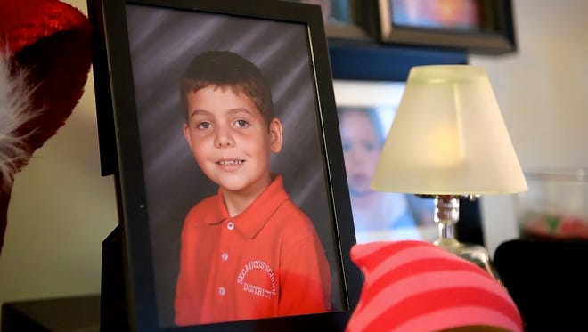 Photos of Joe Maldonado, 8, who was kicked out of Secaucus Boy Scout Pack 87 for being born a girl.