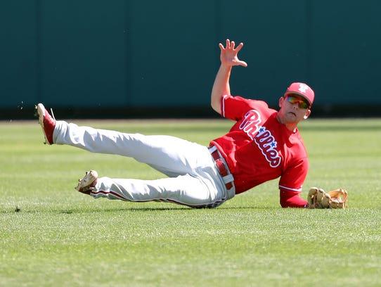 Philadelphia Phillies second baseman Scott Kingery