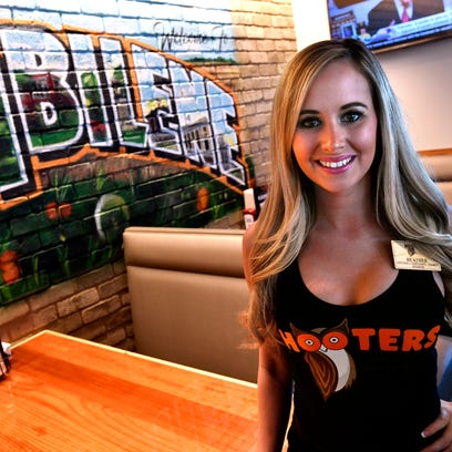 Heather Kuykendall is a trainee at the Abilene Hooters