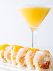 The Summer Lovin' roll and the Orange Julius martini