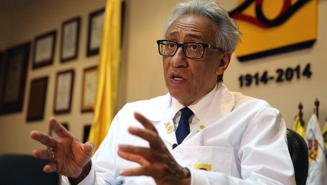 En la imagen, el director del Instituto de Medicina Legal y Ciencias Forenses, Carlos Valdés.