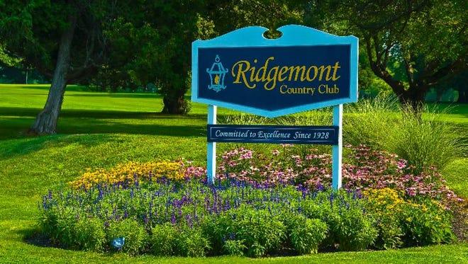 Ridgemont Country Club.